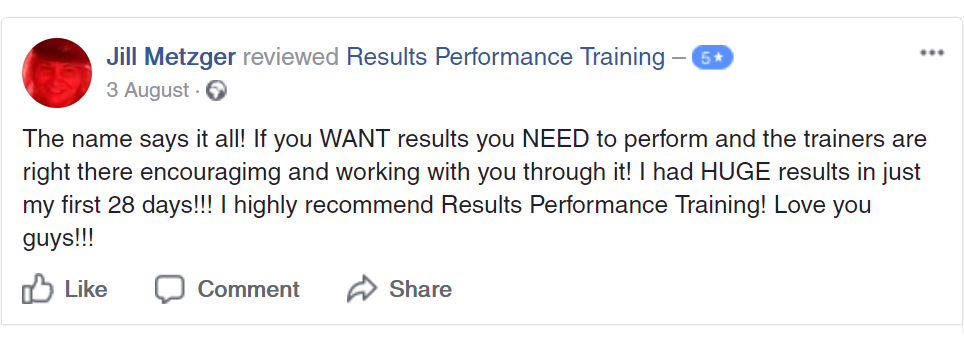 Results Fitness Training Personal Trainer Williamsburg Va